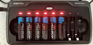 Заряжаемые батарейки (аккумуляторные)